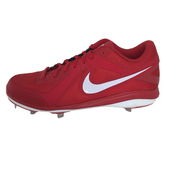 Nike Shoes | Baseball Cleats Red Mens